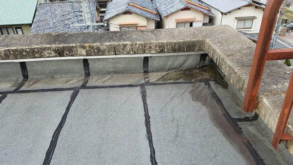 京都市立S第二小学校 屋上漏水修繕工事