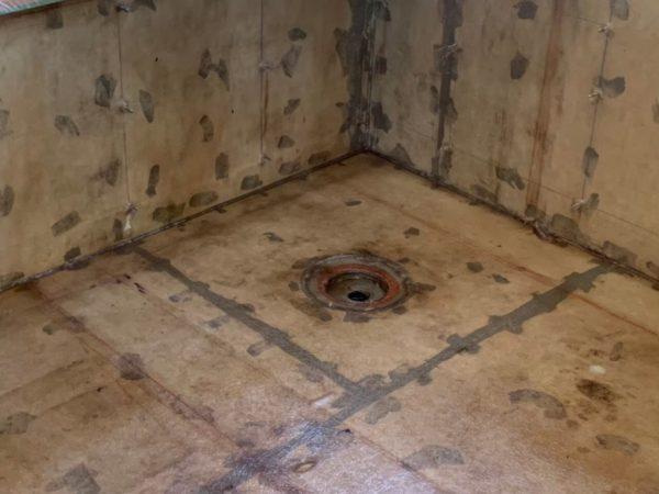 京都市右京区R邸 浴室FRP防水
