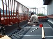 京都市K様邸 シート防水工事