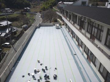 京都市西京区老人ホーム 屋上防水改修工事