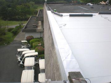 京都市中京区 某ゴルフ場クラブハウス 防水改修工事