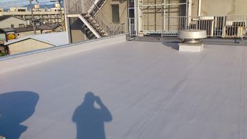 京都市左京区 H友禅ビル屋上防水工事