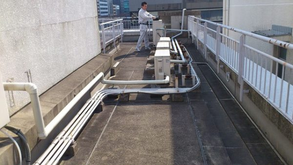 Kビル外壁塗装及び屋上防水改修工事