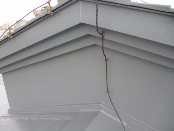 京都市R中学 体育館屋根ウレタンスプレー防水工事