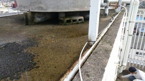 京都市伏見区J学院寮 屋上ペントハウス防水改修工事