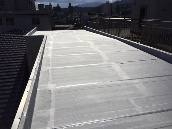京都市上京区Mマンション 屋上防水・外壁塗装工事