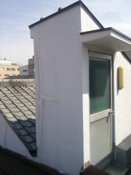 中京区Y邸ルーフバルコニー防水改修工事