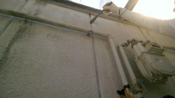 京都市右京区Sハイツ 廊下防水・外壁塗装工事
