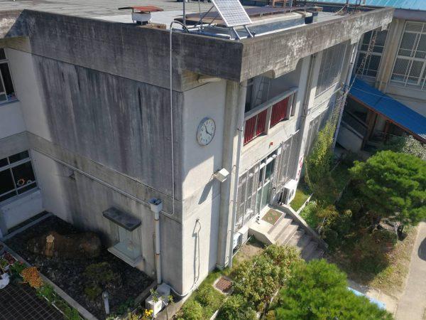 京都市立S小学校 中央棟漏水修繕工事