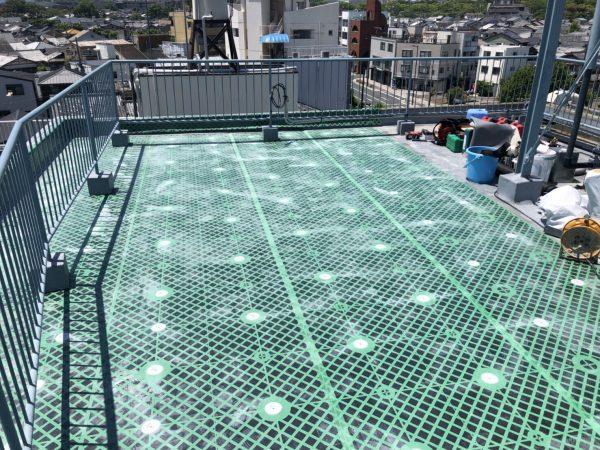 京都市左京区コーポI 外壁改修工事