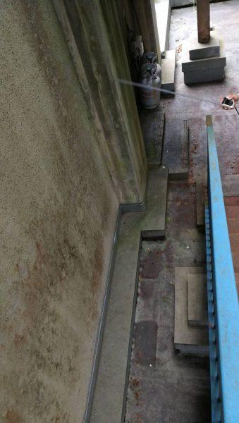 京都市立K小学校 職員室上屋部、体育館更衣室上屋防水修繕工事