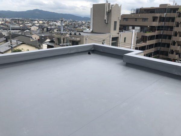 京都市北区紫竹Mビル 屋上防水工事