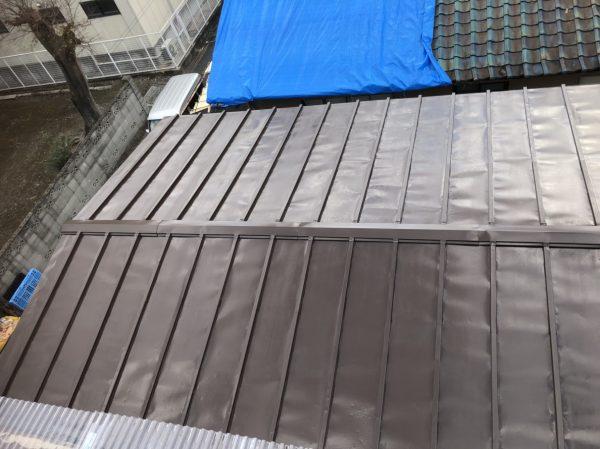 京都市南区 波板張替え工事