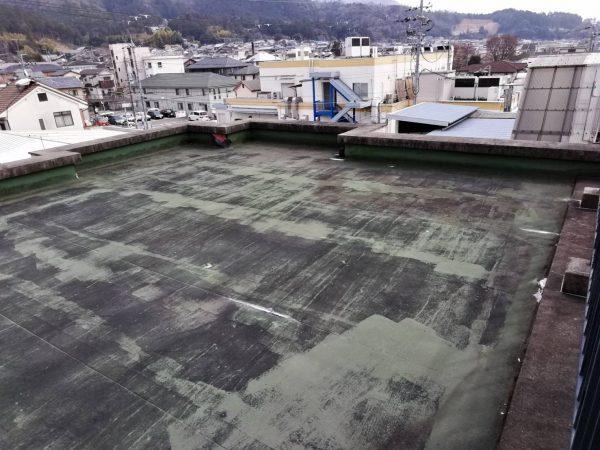 京都市左京区Pマンション 屋上防水改修工事
