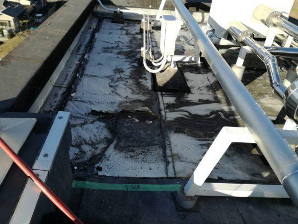 京都市醍醐南市市営住宅修繕 1~12棟東階段室屋上防水修繕