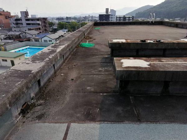 京都市左京区S小学校 屋上修繕工事
