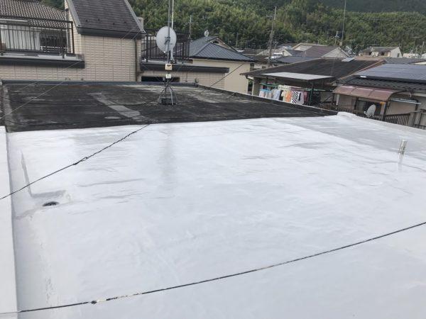 京都市山科区S邸 屋上防水工事