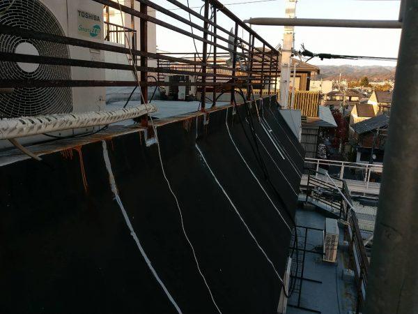 京都市上京区 Mビル バルコニー防水工事