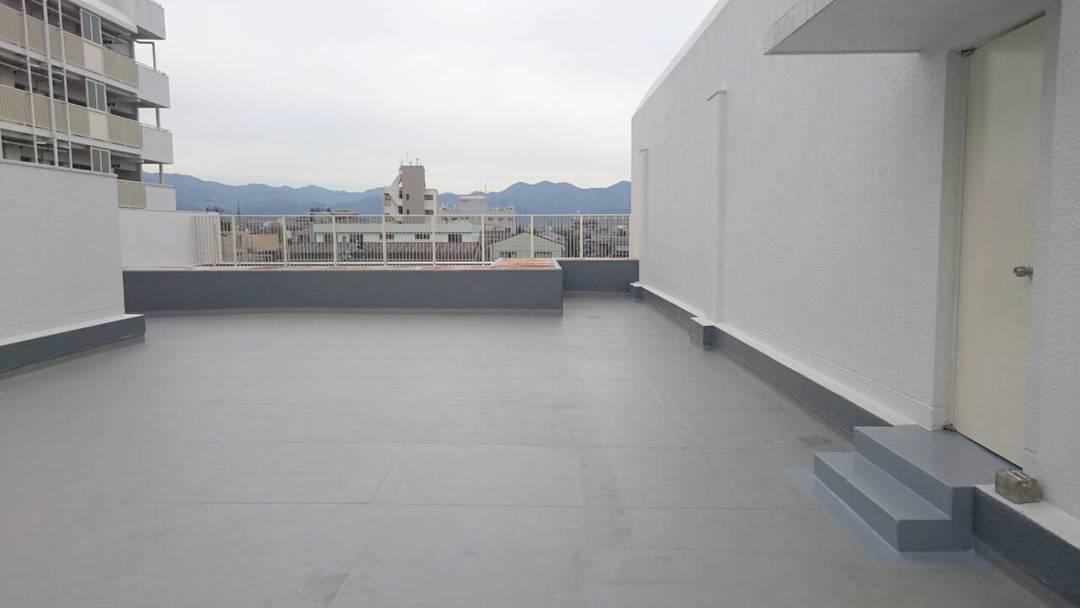 京都市S区総合庁舎整備工事 屋上防水改修工事のサムネイル
