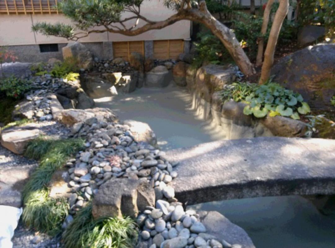 祇園某料亭 池の防水工事のサムネイル