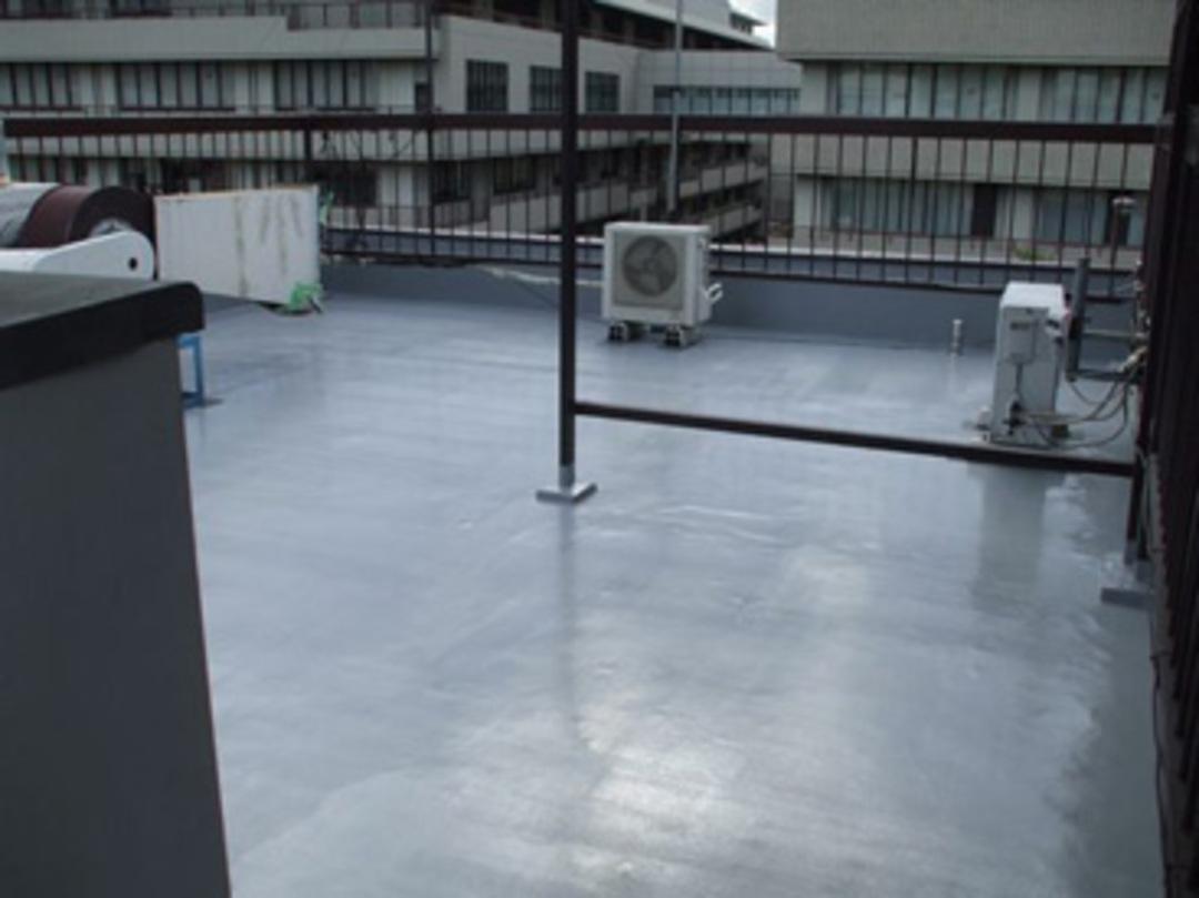 京都市 中華料理店屋上ウレタン防水工事のサムネイル