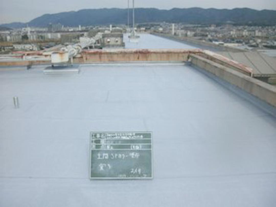 京都市伏見区市営住宅屋上防水工事のサムネイル