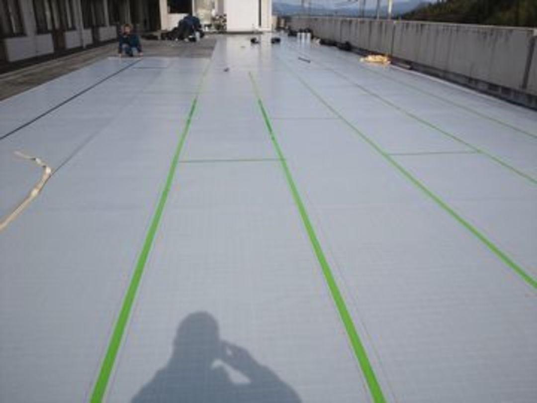 京都市西京区老人ホーム 屋上防水改修工事のサムネイル