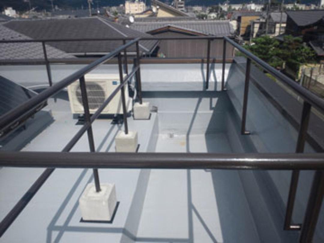 京都市左京区 H邸屋上防水改修工事のサムネイル
