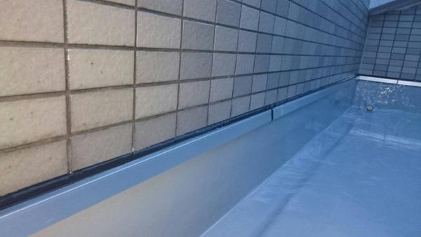 京都市左京区Bマンション ルーフバルコニー及び外壁タイル面防水改修工事