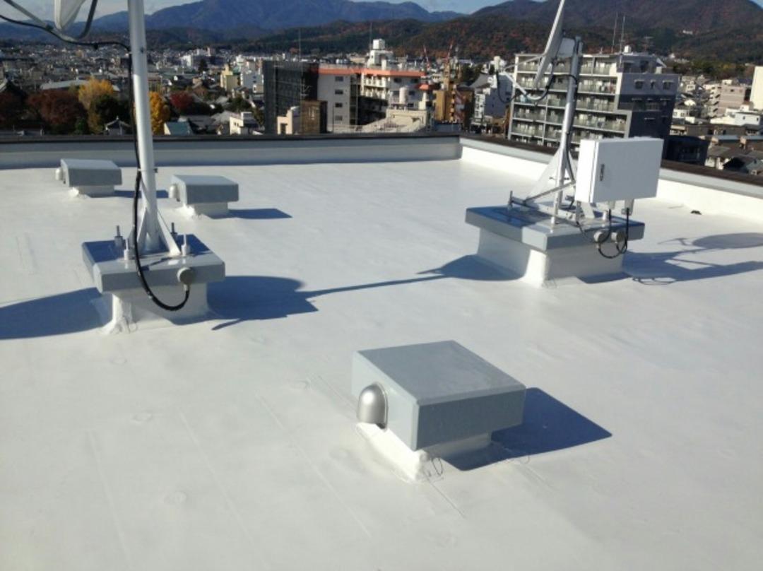 京都市北区Dマンション 屋上防水改修工事のサムネイル