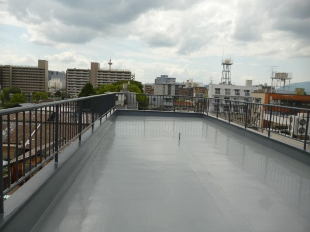 京都市下京区マンション屋上防水強化工事のサムネイル