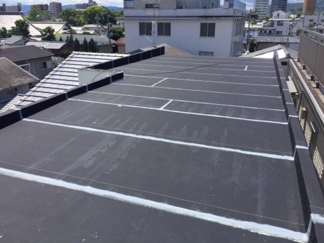 京都市上京区Mマンション 屋上防水・外壁塗装工事のサムネイル