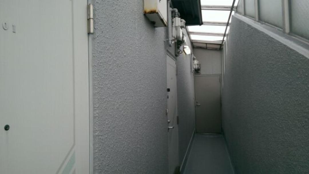 京都市右京区Sハイツ 廊下防水・外壁塗装工事のサムネイル