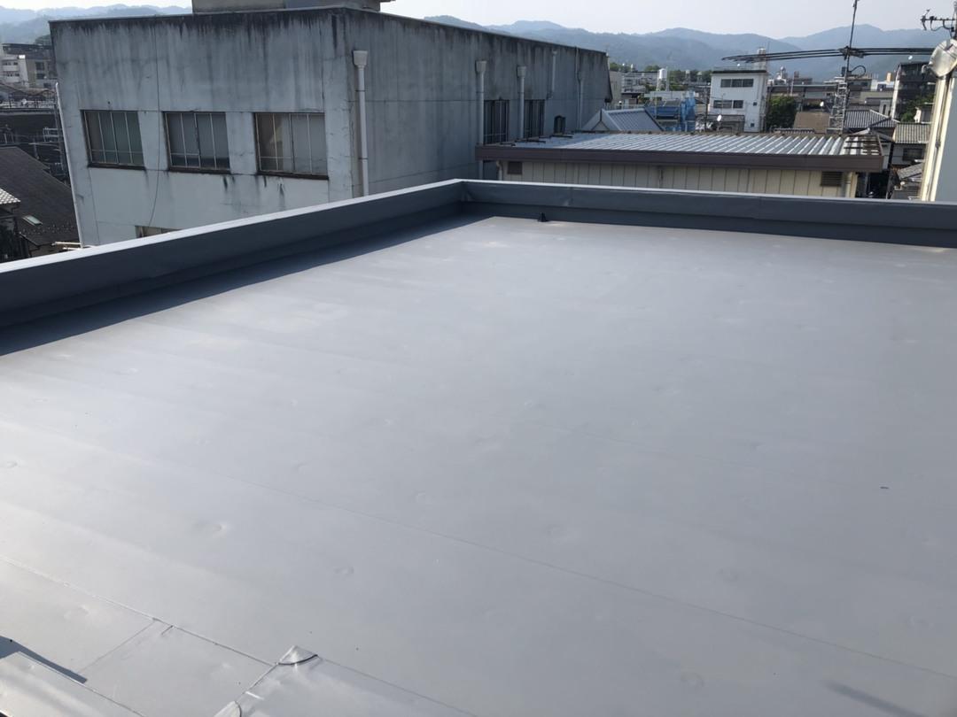 京都市北区紫竹Mビル 屋上防水工事のサムネイル