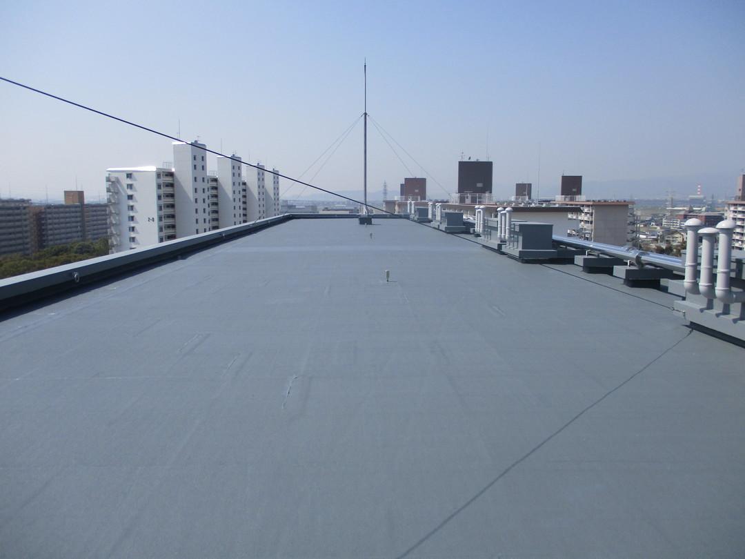 京都市向島市市営住宅修繕工事 1~3号棟屋上防水改修工事のサムネイル