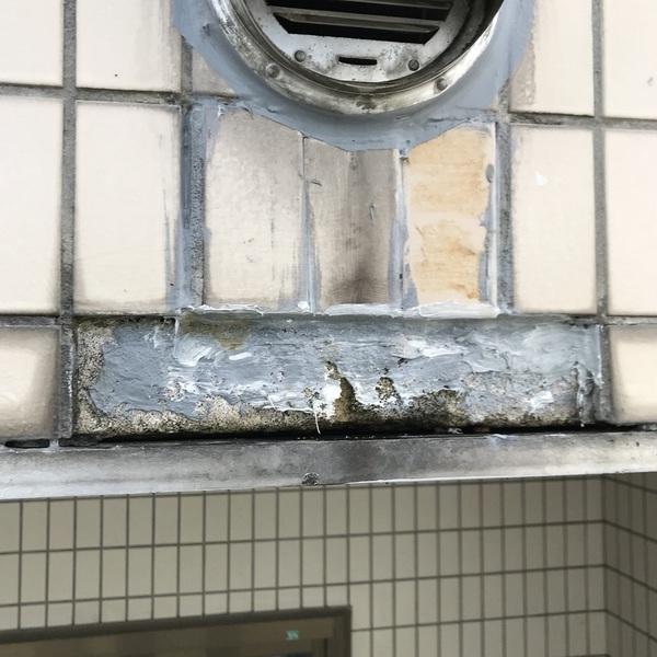 外壁タイルの剥がれ落ちでも、KGルーフ?