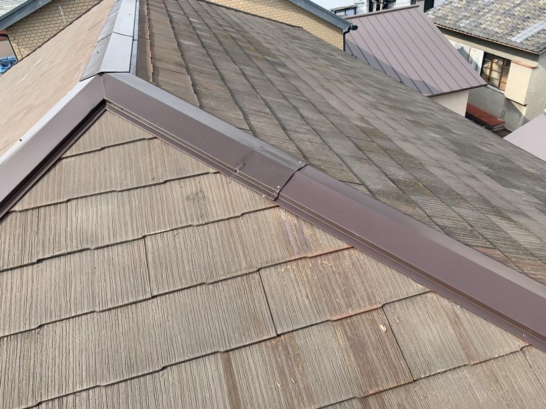 京都市山科区Pマンション 屋根板金修繕工事のサムネイル