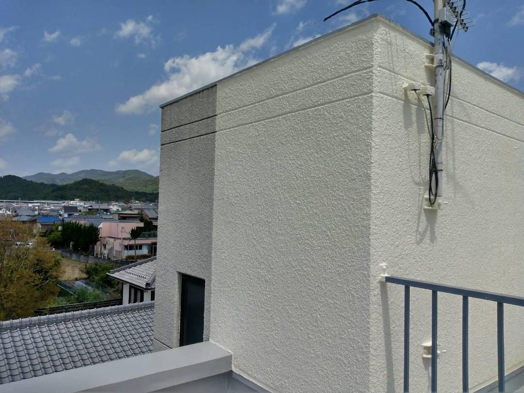 京都市左京区Pビル 外壁防水工事のサムネイル