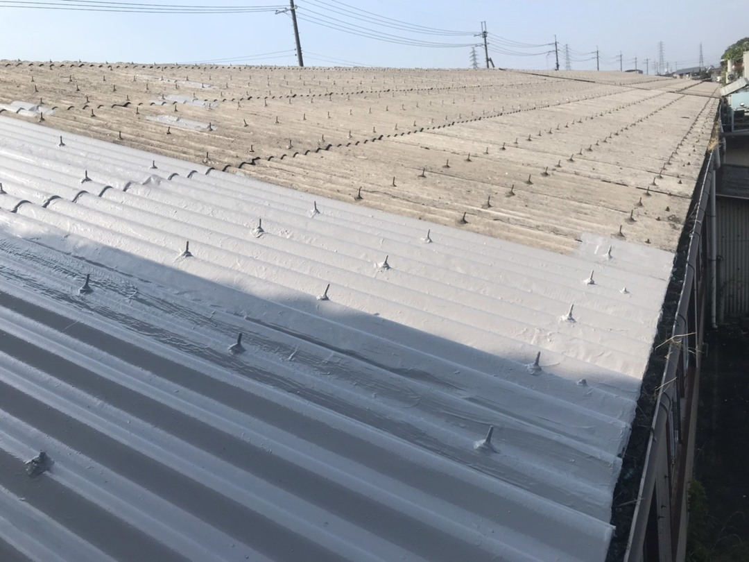 彦根現場 屋根改修工事のサムネイル