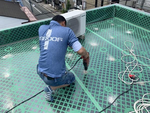 ビル、マンション屋上防水の種類と工法