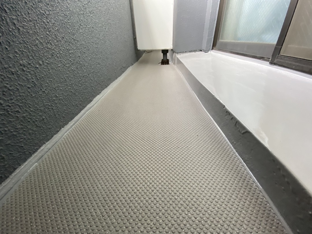 京都市南区Oマンション バルコニー防水改修工事のサムネイル