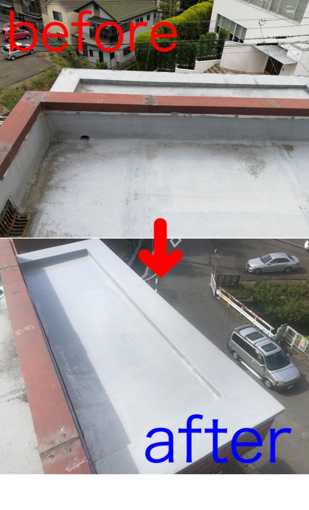 京都市山科区W邸 防水工事のサムネイル