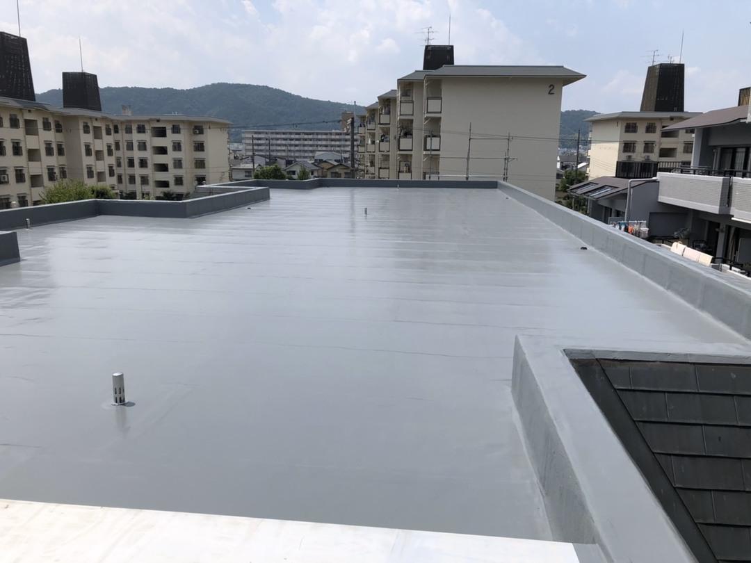 京都市山科区 Rマンション 屋上防水改修工事のサムネイル