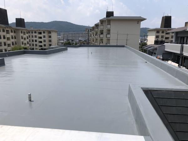 京都市山科区 Rマンション 屋上防水改修工事