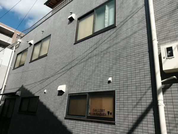 京都市中京区 ギャラリーM 外壁防水工事(クリアプラス防水)