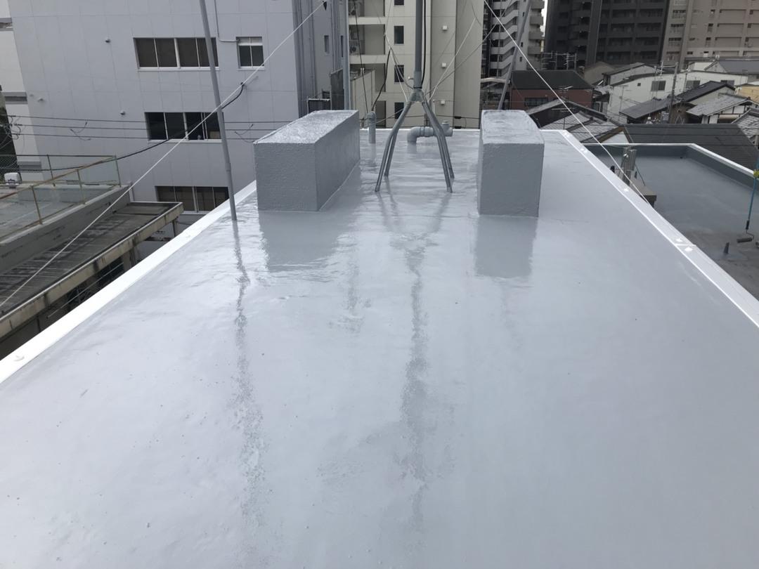 京都市左京区 Dマンション 屋上ペントハウス防水工事のサムネイル