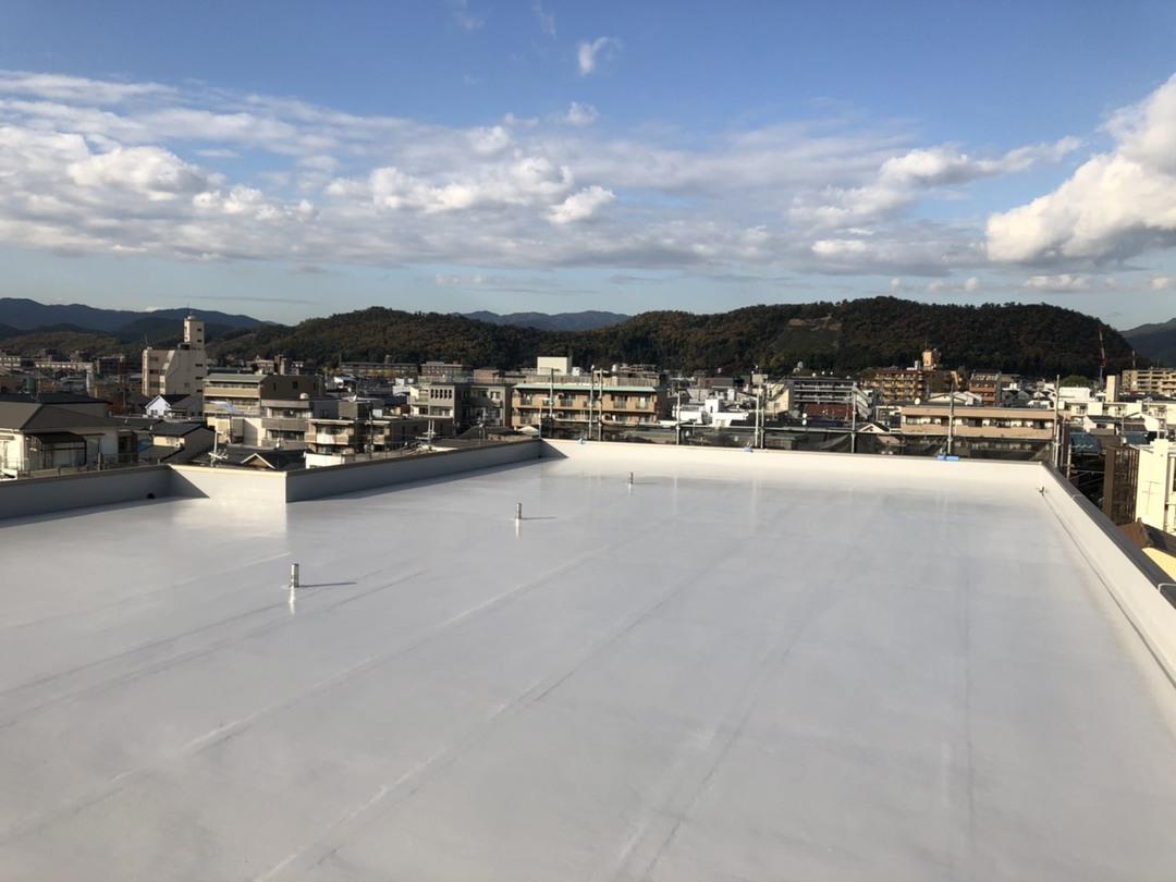 京都市 左京区Cマンション 屋上ウレタン防水工事のサムネイル