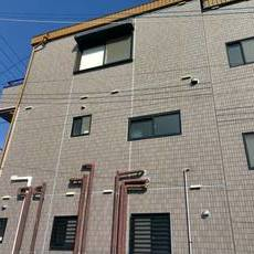 京都市伏見区 Tビル 南面タイル外壁防水工事