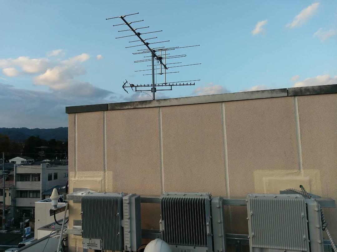 京都市北区 Fビル ALC開口部分防水塗装工事のサムネイル