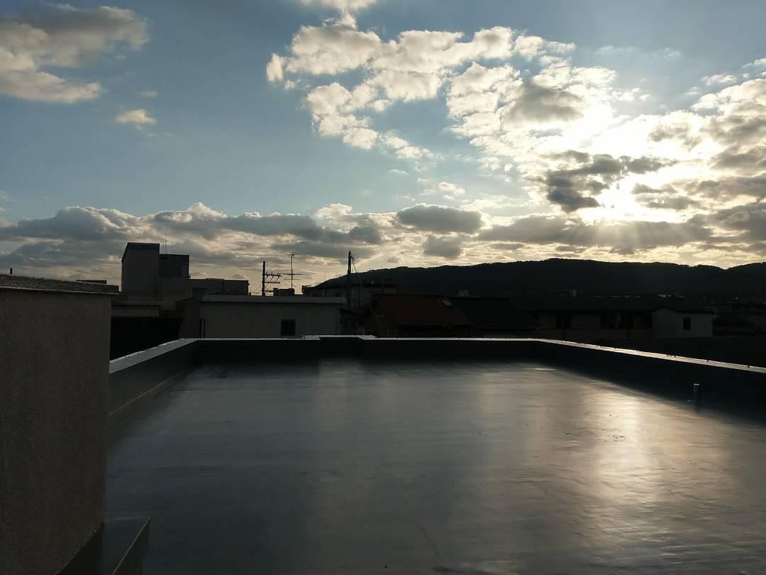 長岡京市 Sマンション 屋上及び、庇防水工事のサムネイル
